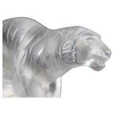 Lalique - Retired Bengal Tiger Figurine