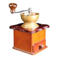 Clean Functional Vintage Coffee or Spice Grinder