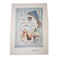 Henry Miller - 1891-1980 - The Joker - 72/200 - Mixed Media Print