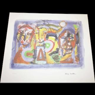Henry Miller - 1891-1980 - Tropics - 31 of 200 - Mixed Media Print