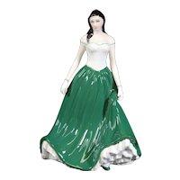 Royal Worcester Caitlin of Ireland Porcelain Figure