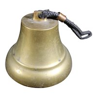 Corded Handled Substantial Hand Bell