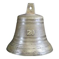 Bronze Cast Classically Shaped Bell