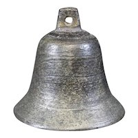 Bronze Cast Classically Shaped Beautifully Patina Bell