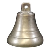Petite Brass Cast Classically Shaped Bell