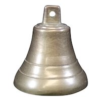 Petite Cast Classically Shaped Brass Bell
