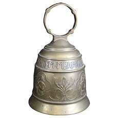 Highly Decorated and Ornate Monastery or Church Bell