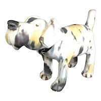 Solid Ceramic Stoneware Smiling Dog