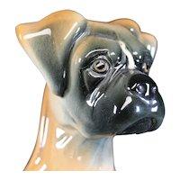 JEMA Holland Large Ceramic Boxer Dog Figurine