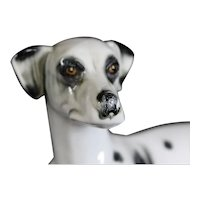 JEMA Holland Large Ceramic Dalmatian Dog Figurine