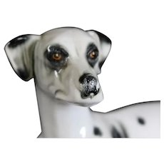 JEMA Holland Large Ceramic Dalmatian Dog Figurine