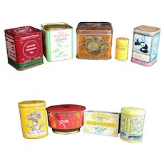 Tea, Coffee & Confectionery Advertising Containers