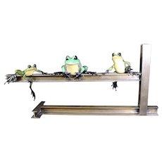 Rare Tim Cotterill - Lunch Break Frogman Sculpture