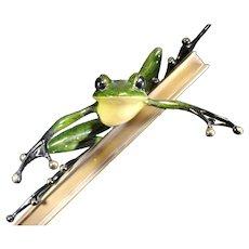 Rare Tim Cotterill - Break's Over Frogman Sculpture