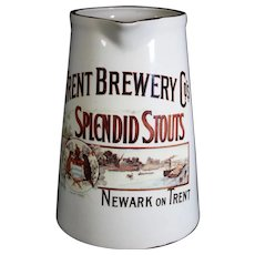 Large Trent Brewery Splendid Stout Jug or Pitcher