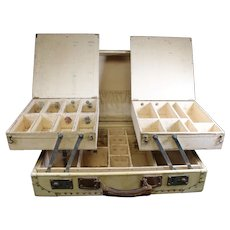 Sectioned Traveling  Salesman's Sample Case