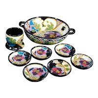 Set of Gouda Dutch Colorful Bowls & Dishes