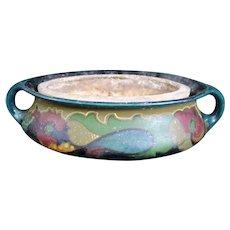 Ceramic Gouda Planter with Earthenware Insert