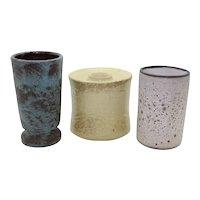 Trio od Dutch Stoneware Vases