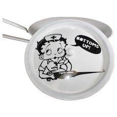 Betty Boop Humorous Medical Bed Pan