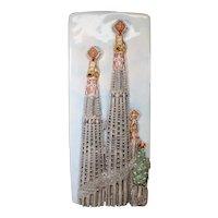 Hand Made Ceramic Wall Plaque Basílica de la Sagrada Família