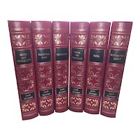 Jane Austen - The Novels of Jane Austen - 6 Vol Leather Bound Set