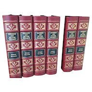 Dumas Malone - Jefferson and His Times - 6 Vol Leather Bound Set