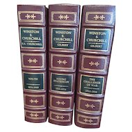 Martin Gilbert - Winston S Churchill - 12 Vol Leather Bound Set