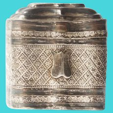 Lodderein Box  .833 silver - Netherlands - Second half 19th century