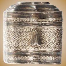Lodderein Box  .833 silver - Netherlands - Second half 19th century