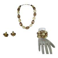 Hobé Necklace, Bracelet and Earrings
