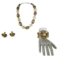 Hobé Necklace, Bracelet and Earrings