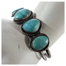 Southwestern Vintage Turquoise Cuff
