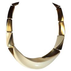 Vintage Modernist Necklace by Kunio Matsumoto for Trifari