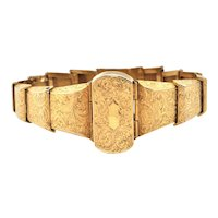 Victorian 14K Yellow Gold Bracelet
