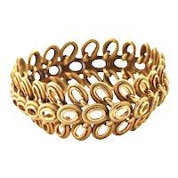 18K Vintage Yellow Gold Bracelet