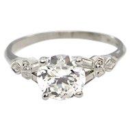 1.47 CT Art Deco Diamond Ring C.1930 - GIA Certified