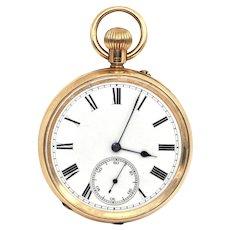 Antique 18K Hamilton & Inches Pocket Watch