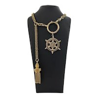 Antique 9k Yellow Gold Watch Fob