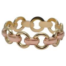 Art Deco 14k Gold Bracelet