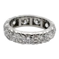 3.30ct Diamond Gold Eternity Ring