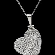 Louis Vuitton Diamond 18k Gold Pendant Locket