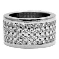 Boodles Diamond Platinum Band Ring