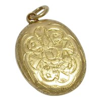 Antique Victorian 15k Gold Locket