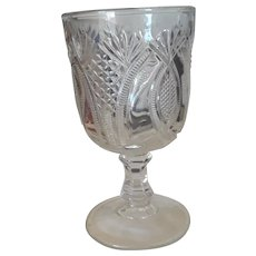 Super Spooner Pattern Glass, Vintage