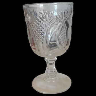 Super Spooner Pattern Glass, Vintage