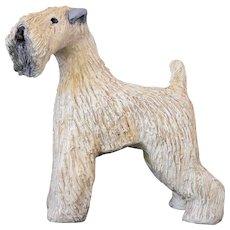 Ceramic Soft Coated Wheaten Terrier