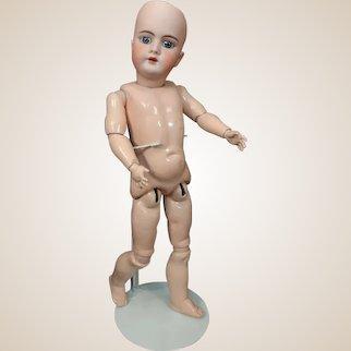 "BEAUTIFUL 21"" Antique German Bisque Doll Handwerck 99 You Dress!!"