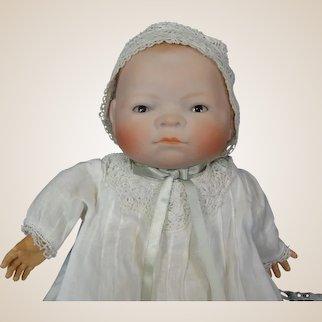 "11"" Antique German Bisque Bye-Lo Baby by Grace S. Putnum"