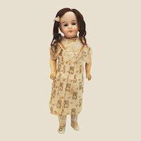 Lovely Cabinet Size Antique German Bisque Doll Gebruder Kuhnlenz